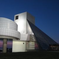 Rock and Roll Hall of Fame + Museum, Cleveland, Кливленд