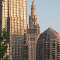 skyscrapers, Cleveland, Ohio, Кливленд