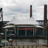 Jacobs Pavilion at the Nautica Entertainment Complex (FORMERLY The Plain Dealer Pavilion), GLCT, Кливленд