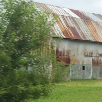 Rusty roof., Коал-Гров