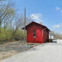 Columbus, Piqua & Indiana Railroad Depot, Ковингтон