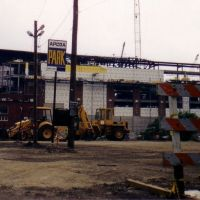 Nationwide Arena Under Construction 1999, Колумбус