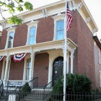 Sherman House Historic Site, Lancaster, Ohio, Ланкастер