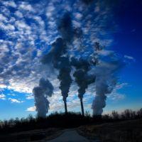 Dusk Over Ohio River Outside Pt. Pleasant, WV, Лауелл