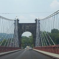 Old Wheeling Bridge, Лауелл