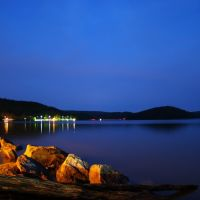 DSC03906  Rocks and Sticks at Night - SE view, Лауелл