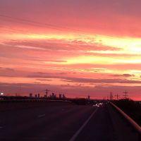 sun rise 7 in the morning Nov 9th 2011, Линкольн-Виллидж