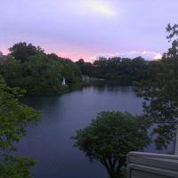 Sunset at Hidden Lake, Марбл-Клифф