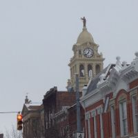 The top of the Marion County Court House., Марион