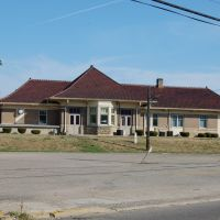 Pennsylvania Railroad Depot, Mt. Vernon OH, Маунт-Вернон