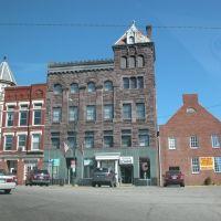 Building on the Town Square, Mt. Vernon, Ohio, Маунт-Вернон