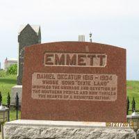 "Dan Emmett-Author of ""Dixie"", Маунт-Вернон"