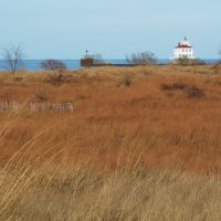 Mentor Headlands Dunes, Fairport Harbor Lighthouse, Ментор