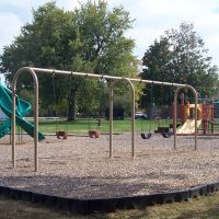 Playground at Osborne Park, Willoughby Ohio, Ментор