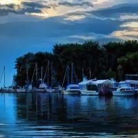 Evening at the Lagoons, Ментор-он-те-Лейк
