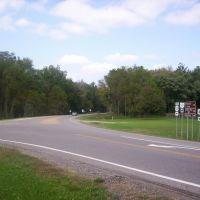 Ohio 603 at Ohio 430 terminus, Миффлин
