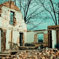 Demolished House - Hoke Road - Clayton Ohio, Монтгомери