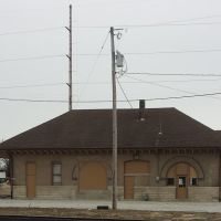 The old London Ohio Train Station allot to sit and rot., Мэдисон
