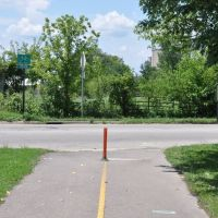 Bike Trail end in London, Ohio, Мэдисон