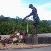 The Scrap Man, Ohio USA, Найлс