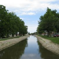 Miami & Erie Canal - New Bremen, OH, Нью-Бремен