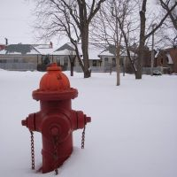 Red Fire Hydrant, Нью-Бремен