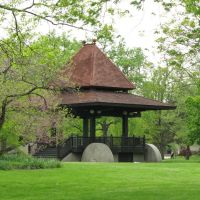 """tea cart"" gazebo, Oberlin, Ohio, Оберлин"