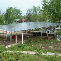 Lewis Center Solar Parking Pavilion, Оберлин