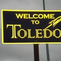 Welcome to Toledo, Орегон