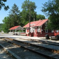 Cuyahoga Valley Scenic Railway station, Peninsula, Ohio, Пенинсула