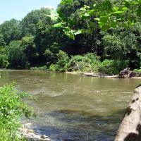 Cuyahoga river south of Peninsula, Пенинсула