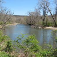 Cuyahoga River near Stumpy Basin, Cuyahoga Valley Nat. Park, Ohio, Пенинсула