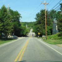 heading down into Peninsula, Ohio on 303, Пенинсула