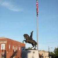 General Philip Henry Sheridan Equestrian Memorial, Town Square, Somerset, Ohio, Перри