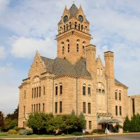 #2 SEC elevation Ottowa County Courthouse, Port Clinton , Ohio, Порт-Клинтон
