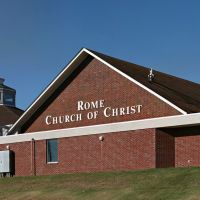 Rome Church of Christ near Proctorville, Ohio, Прокторвилл