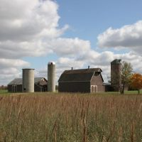 Old Barn Near Circleville, OH, Рарден