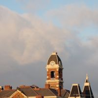 sky above Campbell County Court House, Ричмонд-Хейгтс