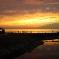 Rocky River, OH dock, Роки-Ривер
