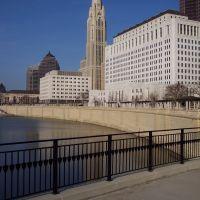Columbus Ohio- Rich Street Bridge -LeVeque Tower, Сабина