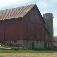 Barn with silo., Саванна