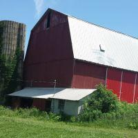 Barn and silo., Саванна