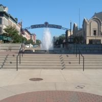 Fountain Downtown Sandusky, Сандуски