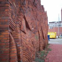 Wall/Artwork behind Musicians Alley, Сандуски