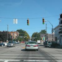 Eastbound on U.S. 36 in Mt. Vernon, Ohio, Саут-Маунт-Вернон