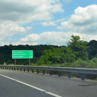Huntington 10 Miles Ahead, Interstate 64, Eastbound, Саут-Пойнт