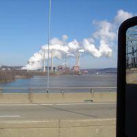 Plant on Ohio River, Сиухога-Фоллс