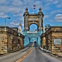 John A. Roebling Bridge, Ohio - Kentucky, Сиухога-Хейгтс