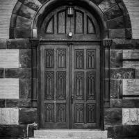 Door to St. Johns Lutheran Church, Спрингдал