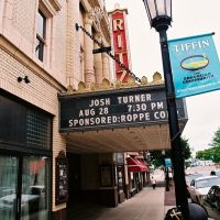 Ritz Theater Marquee Tiffin Ohio USA, Тиффин
